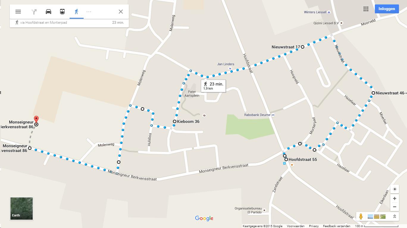 Route St Maarten 2015